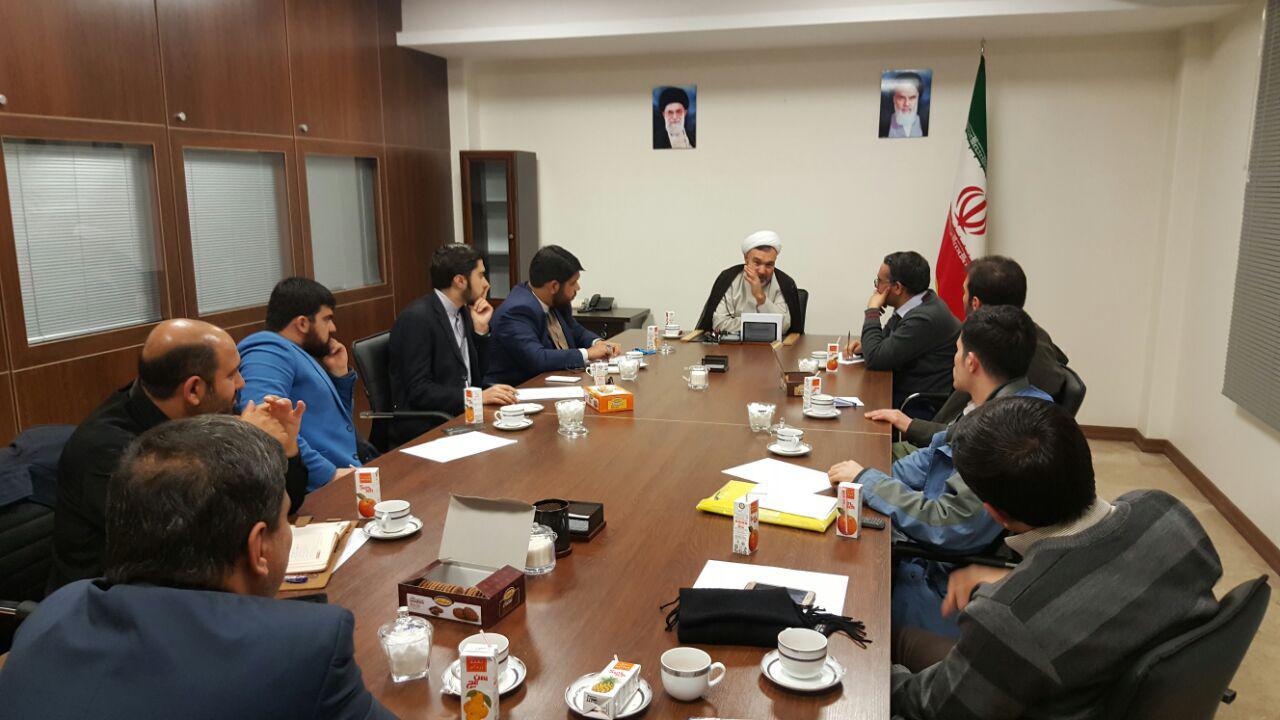 نشست خبری سازمان رسانه ای سفیر۸